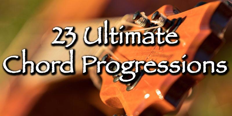 23 Ukulele Chord Progressions