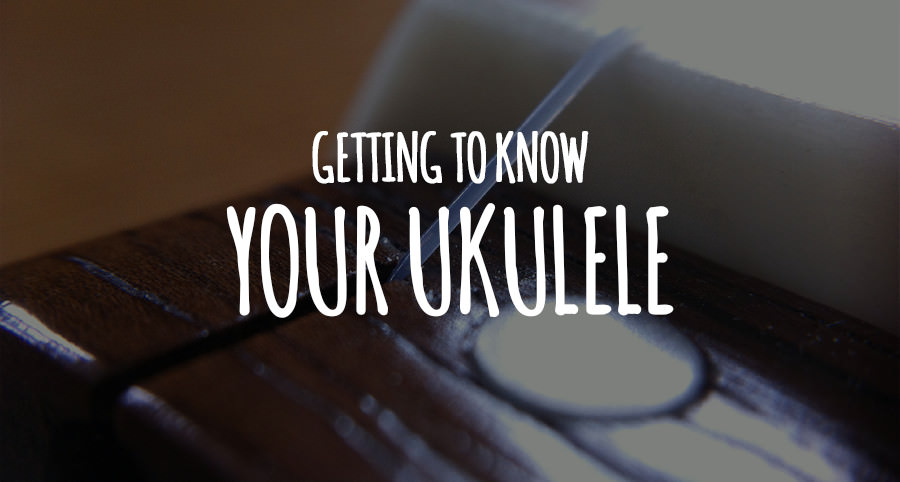 Getting To Know Your Ukulele