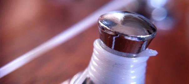 Ukulele Tuner Close-up