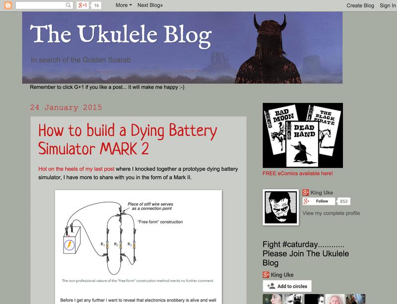 The Ukulele Blog