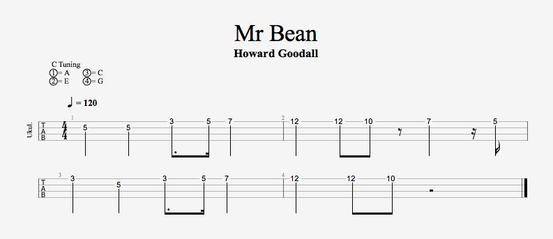 Animated Mr Bean Theme