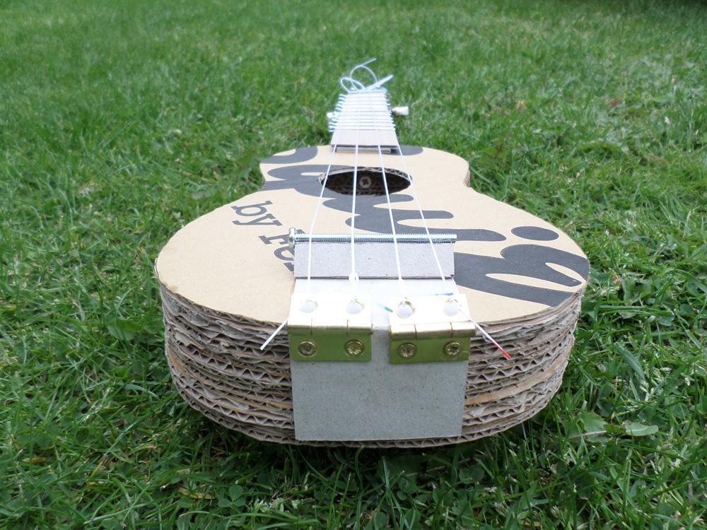 cardboard ukulele