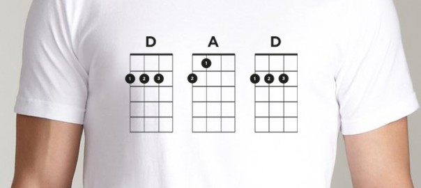 Dad Ukulele T-Shirt