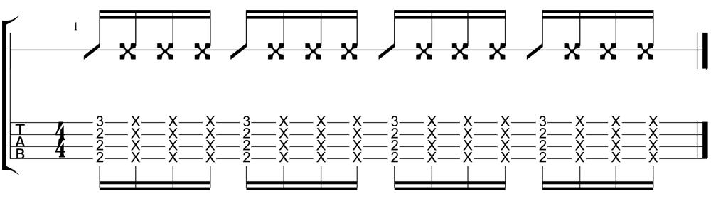funk ukulele