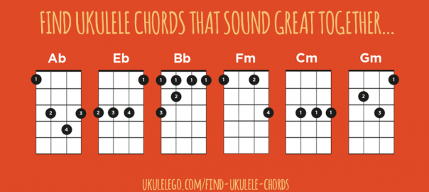 Find Ukulele Chords That Sound Great Together | Ukulele Go