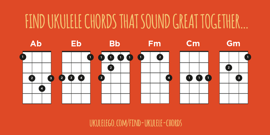 Find Ukulele Chords That Sound Great Together Ukulele Go