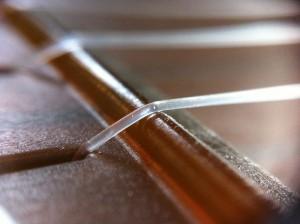 plastic ukulele