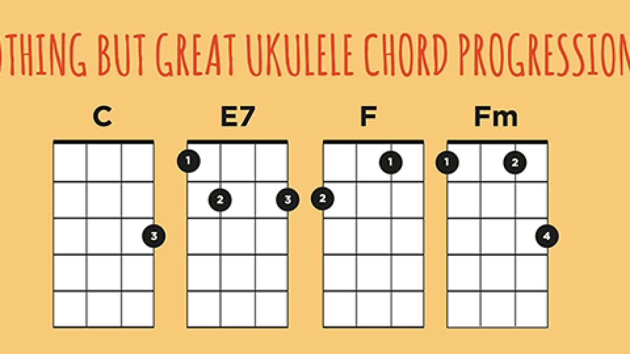 Ukulele Chord Progressions Tool | Ukulele Go