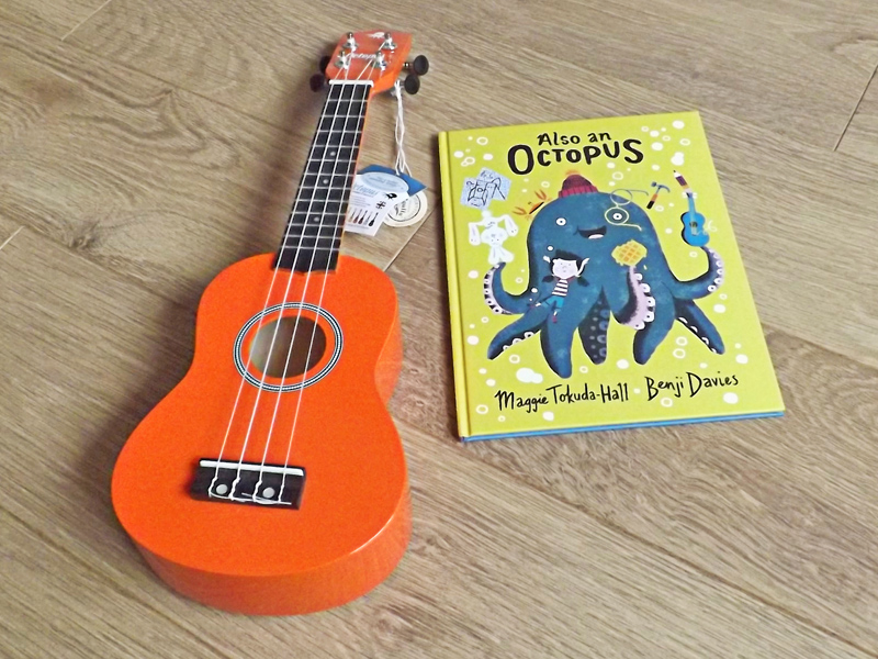 Win Octopus Ukulele