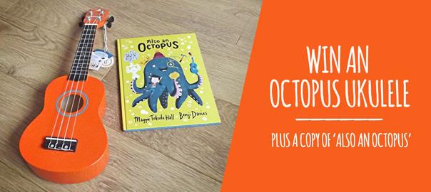 Win Octopus Ukulele