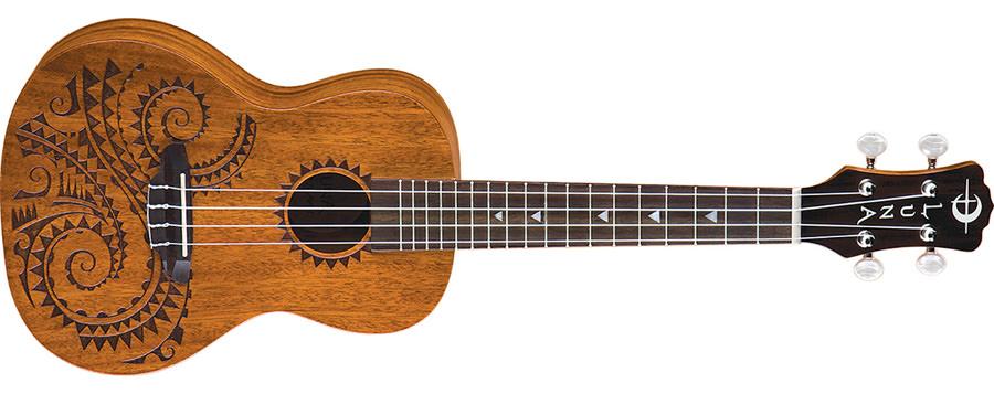 luna tattoo concert ukulele