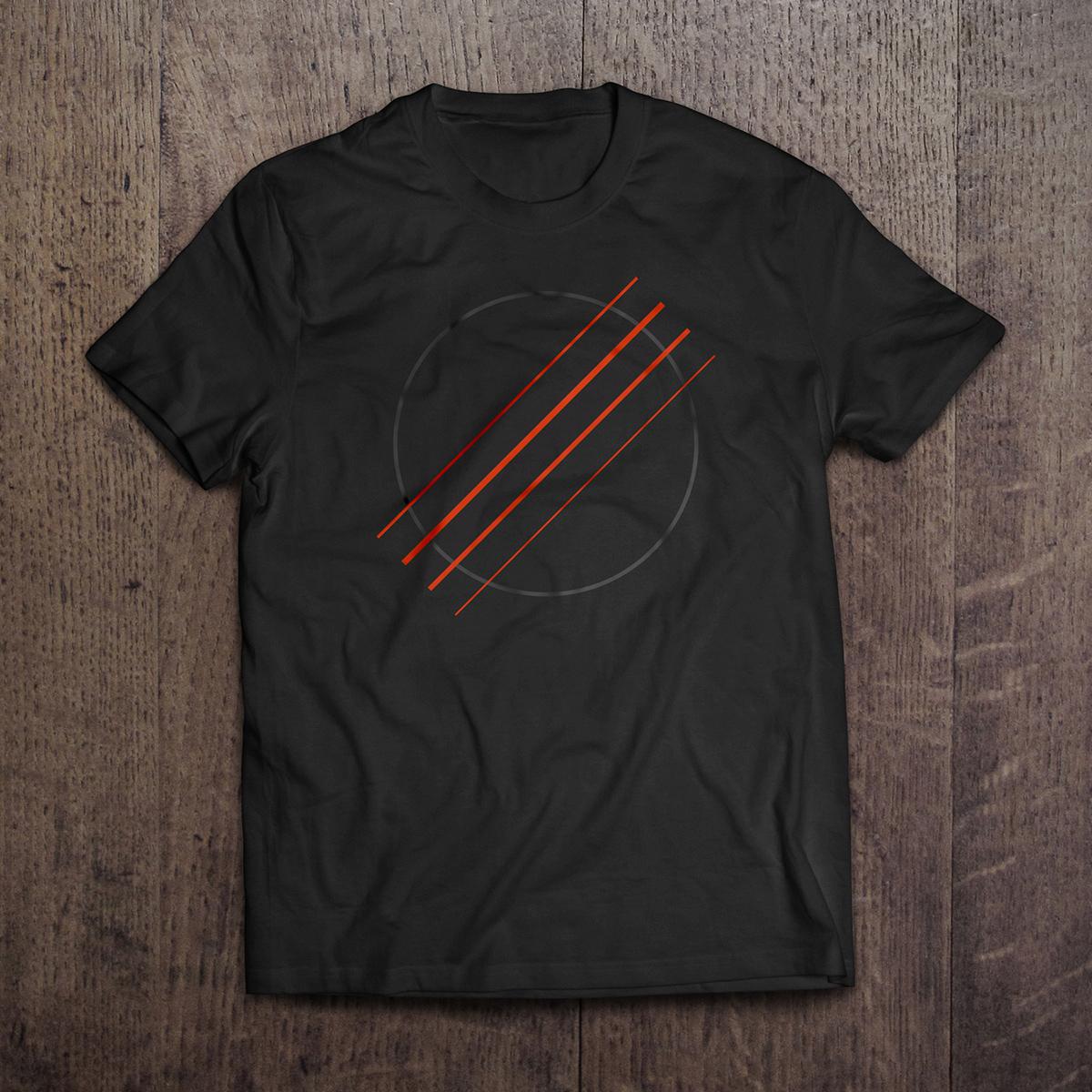 Black Sound Hole Ukulele Tshirt