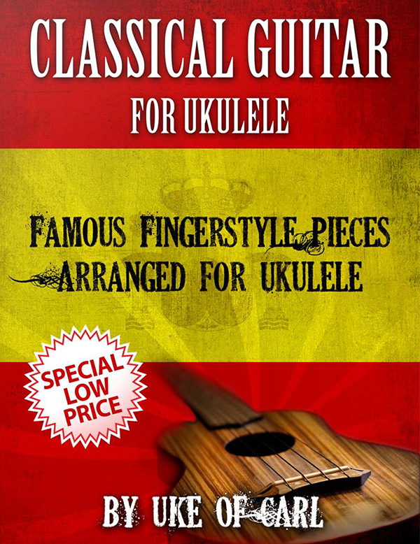 Classic Guitar For Ukulele