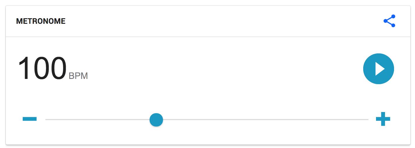Google's Metronome