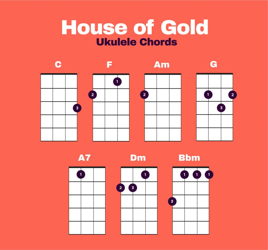 House of Gold Ukulele Chords