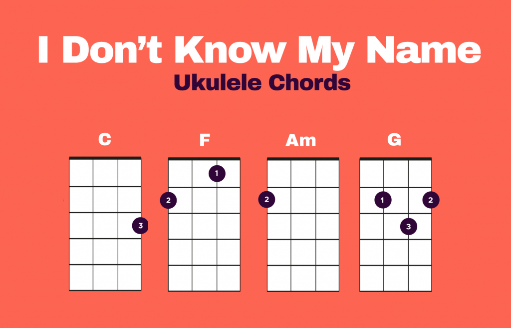 I Don't Know My Name Chords
